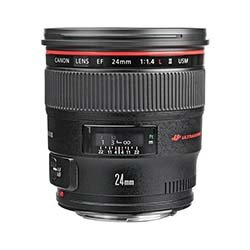 EF 24mm f/1.4L EW-83DII / 77mm Wide Angle Lens Rentals