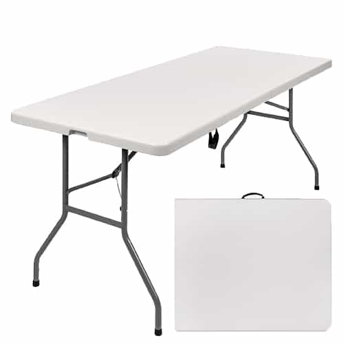 6' Folding Table rental