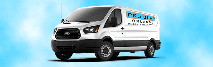 Gear Delivery Pro Gear Orlando Delivery Van