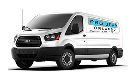Pro Gear Orlando Delivery Van