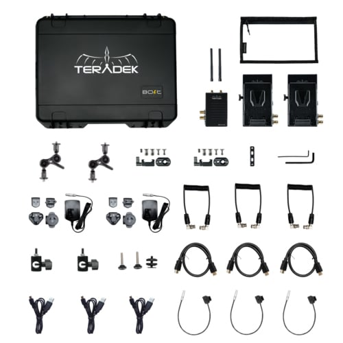 Teradek Bolt 500XT KIT 1-TX / 2-RX Contents