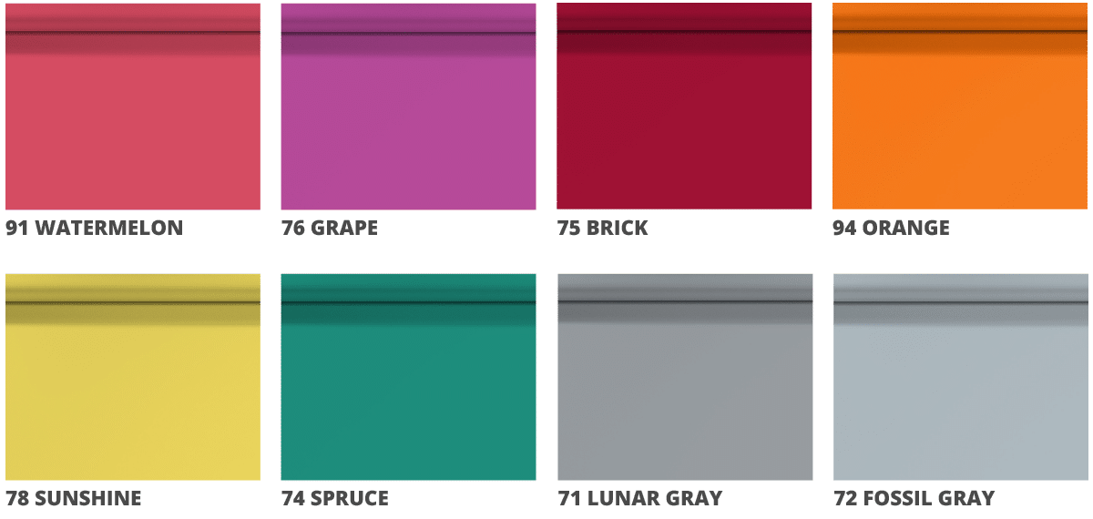 Superior Seamless new colors